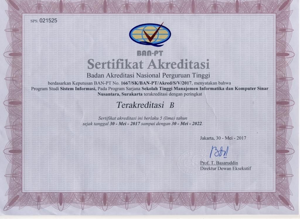 akreditas si-s1