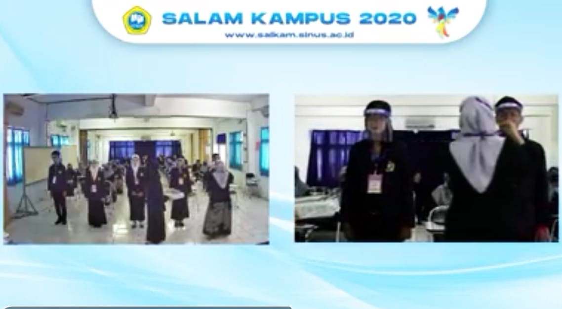 Salam Kampus 2020 STMIK Sinar Nusantara Surakarta secara Daring