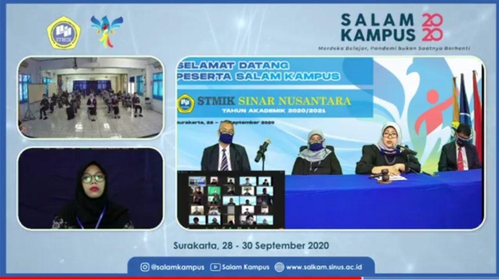 Salam Kampus 2020 STMIK Sinar Nusantara secara online
